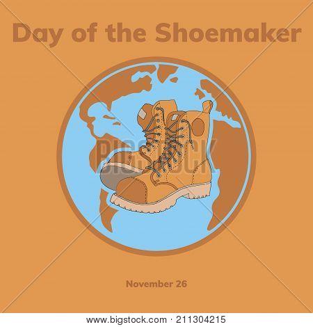 Shoesmaker Day Vector