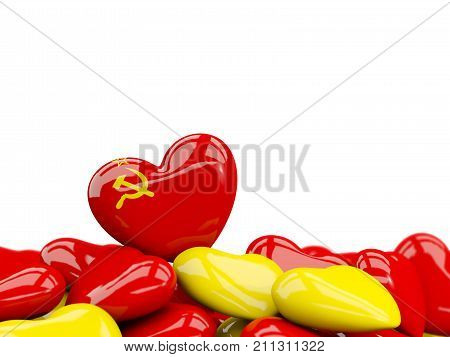 Heart With Flag Of Ussr