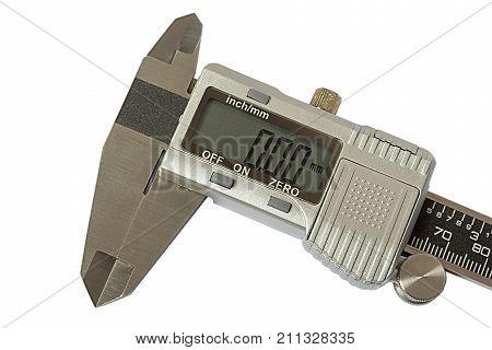 Dgital Electronic Vernier Caliper, isolated on white background