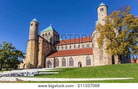 St. Michaelis Monastery In The Historic Center Of Hildesheim