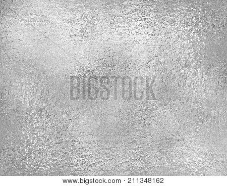 Silver foil texture grunge background. trendy metallic fabric sample design element. Silver foil texture. Silver foil background.