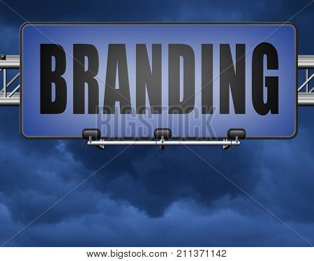 branding your own brand new product name promotion of trademark by recognition 3D, illustration