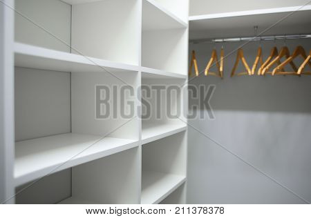 Empty cloakroom in modern apartment