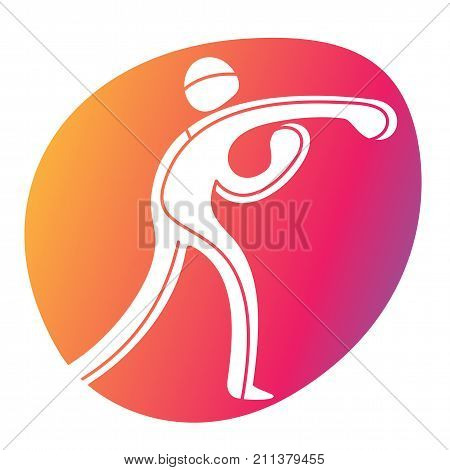 Athlete Sport Game Competition Icon