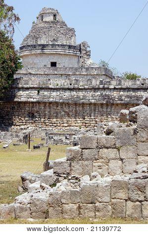 Caracol And Ruins
