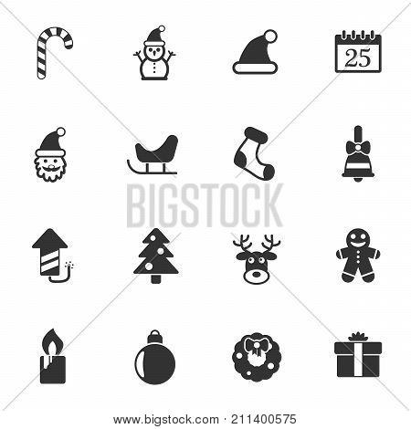 christmass vector icons for your creative ideas