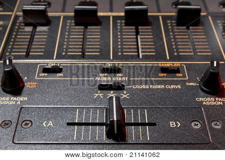 Crossfader Of 4-channel Professional Sound Mixer