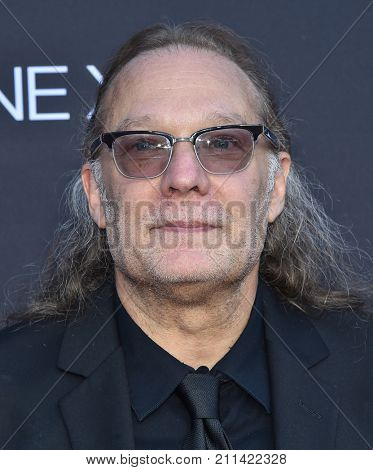 LOS ANGELES - OCT 22:  Gregory Nicotero arrives for the 'The Walking Dead' Season 8 Premiere on October 22, 2017 in Hollywood, CA