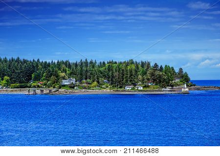 Gallows Point Light Park in Nanaimo British Columbia