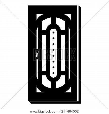 Doorway icon. Simple illustration of doorway vector icon for web
