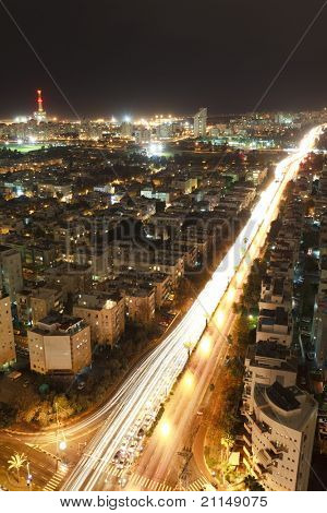Tel Aviv night, Israel