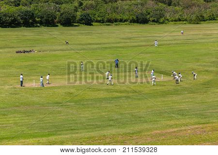 Cricket Games Overhead Action