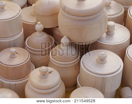 Wooden carved ware - environmentally friendly house utensils