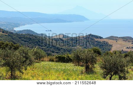 Beautiful Summer Seascape (halkidiki, Greece).