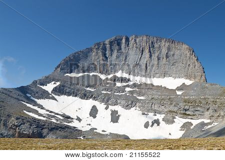 Mt. Olympus in Greece