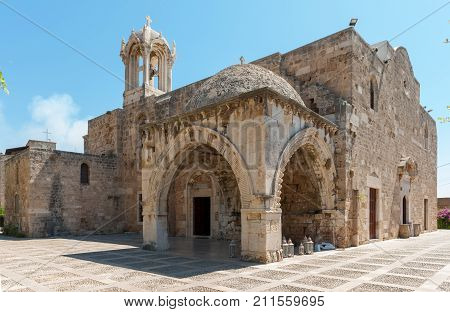 Byblos is a Mediterranean city in the Mount Lebanon.Byblos is located about 42 kilometres 26 mi north of Beirut.