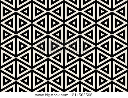 Geometric seamless pattern. Simple regular background. Trendy hipster style with american indian motifs . Aztec background. Textile print with navajo tribal ornament. Native american art