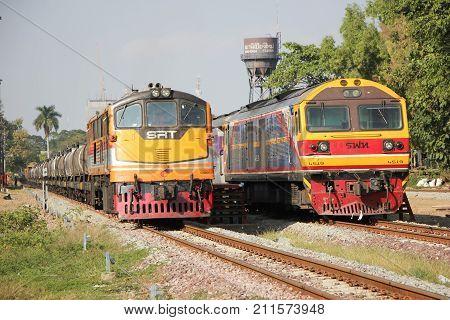 Ge Diesel Locomotive No.4007