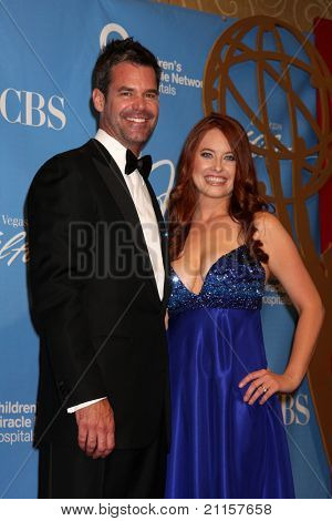 LAS VEGAS - JUN 19:  Tuc Watkins, Melissa Archer in the Press Room of the  38th Daytime Emmy Awards at Hilton Hotel & Casino on June 19, 2010 in Las Vegas, NV.