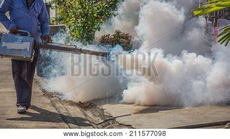 Fogging Ddt Spray Mosquito Kill For Virus Protect