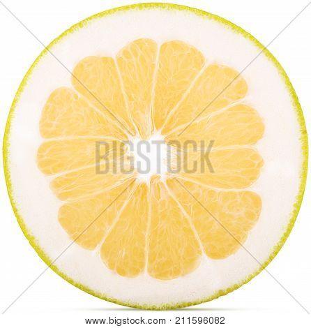 Sweetie Citrus Fruit Cut In Half