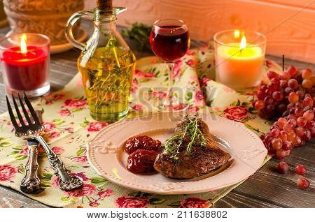 Beautiful Still Life With Meat