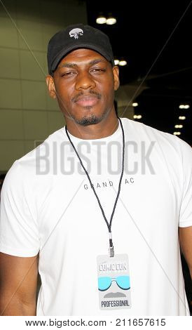 Jason R. Moore attends the annual Stan Lee's Los Angeles Comic Con 2017 Expo at the Los Angeles Convention Center on Oct. 28, 2017.