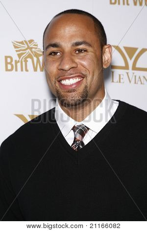 WEST HOLLYWOOD - FEB 25: Hank Baskett at the OK! Magazine and BritWeek celebrate the Oscars party held at the London Hotel in West Hollywood, California on February 25, 2011