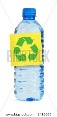 Bottle With Recyle Symbol