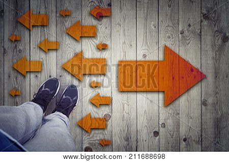 Taking decisions for the future choosing the right way