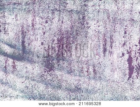 Hand-drawn abstract watercolor. Used colors: Bright gray Christmas silver Lavender gray Old lavender Languid lavender Platinum Anti-flash white Chinese violet poster
