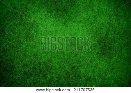 Mold background painted in green with soft focus. Background for Christmas for holidays. Aspergillus. Fungi. Green abstract grunge background texture.