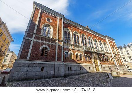 House Of Nobility.  Helsinki. Finland.