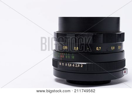 Helios 44-2 vintage USSR manual lens, made in Soviet Union