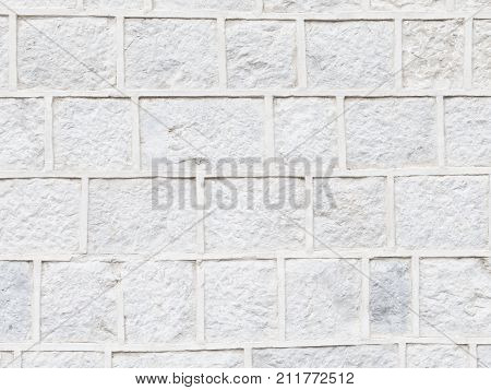 Imagen y foto old dirty uneven surface wall light bigstock old dirty uneven surface of a wall of light gray stone and convex seams laid like aloadofball Image collections