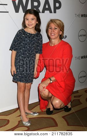 LOS ANGELES - OCT 26:  Brooklyn Prince, Sharon Waxman at the Power Women Breakfast L.A. at the Montage Hotel on October 26, 2017 in Beverly Hills, CA