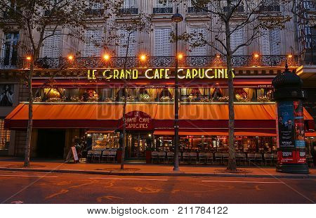 Caf Ef Bf Bd Grands Boulevards