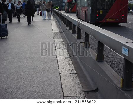 Anti Terrorism Safety Barriers In London