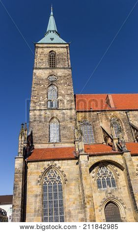 Tower Of The St. Andreas Church Of Hildesheim