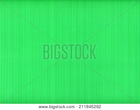 Green Corrugated Polypropylene Plastic Texture Background