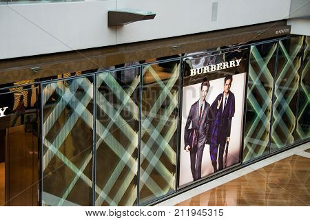 Singapore  - AUGUST 5, 2014: The Shoppes shopping mall on August