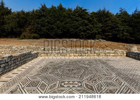 Roman Ruins In Conimbriga, Portugal