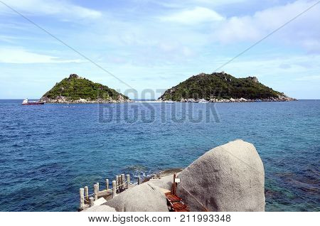 Koh Nang Yuan Islands, From Koh Tao, Thailand