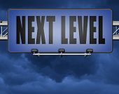 next level in gaming, play game button or icon higher difficult levels 3D, illustration poster