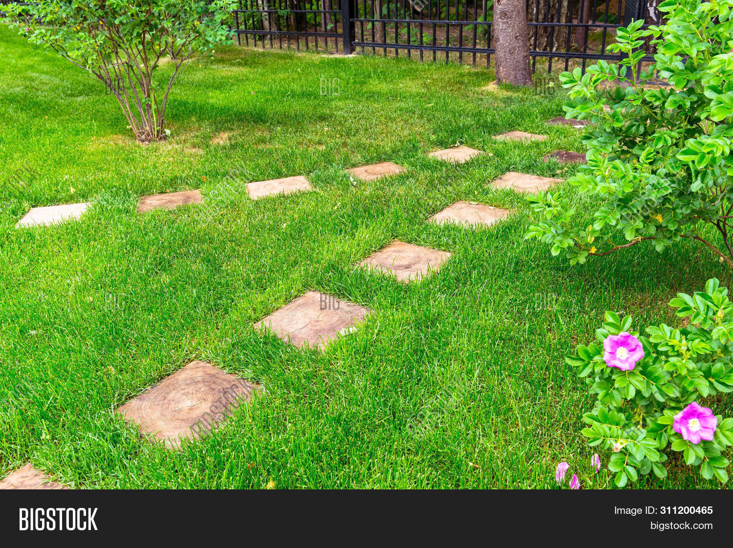 Landscaping Home Image Photo Free Trial Bigstock