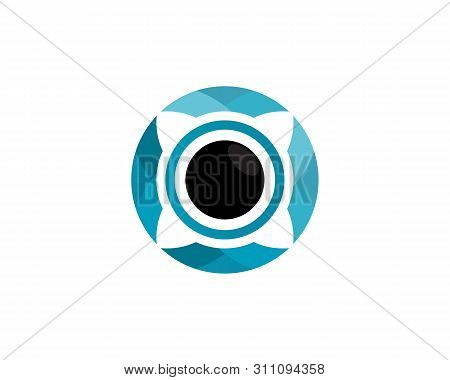 Technology Circle Logo And Symbols Vector Icon