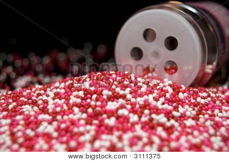 Candy Sprinkles Spill