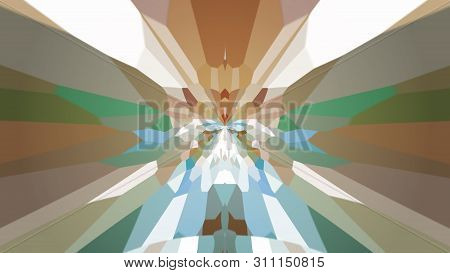 Abstract Background With Color Blots, Transitions And Bends.