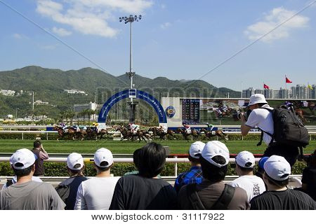 Mercedes-benz Hong Kong Derby 2012