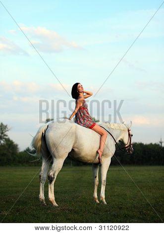 Vacation Lifestyles- Unsaddle Horseback Riding at Sunset